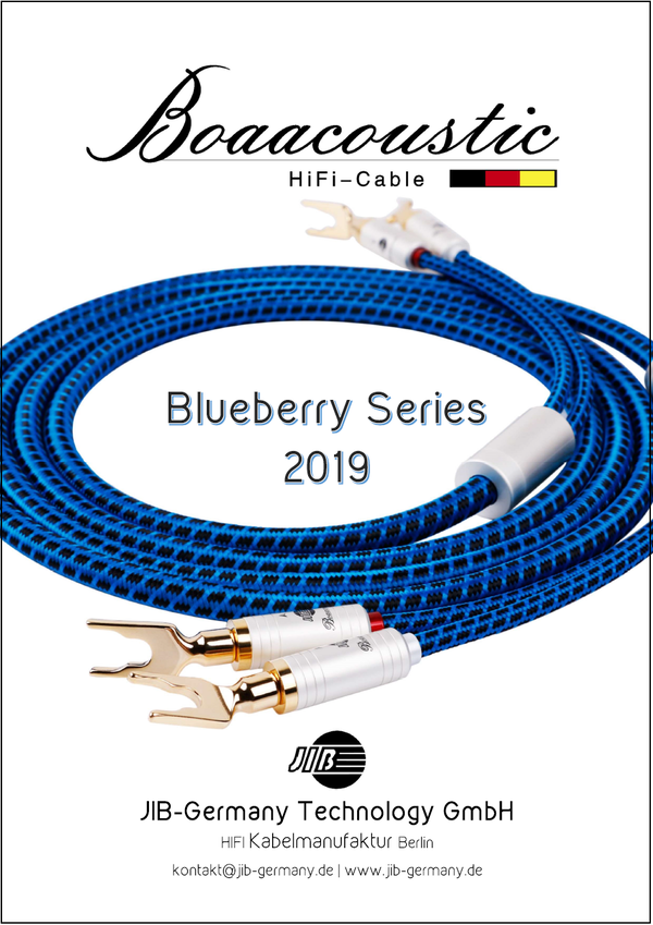 English Boaacoustic Blueberry Product Catalogue 2019