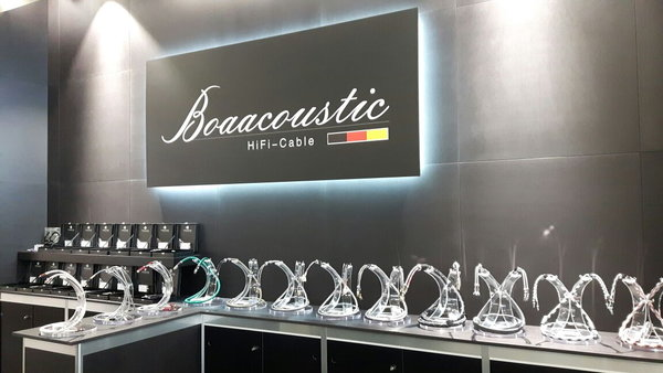 Boaacoustic Messestand High End München